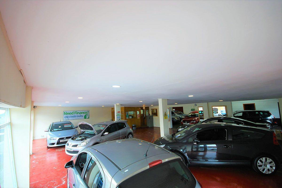 internal main showroom